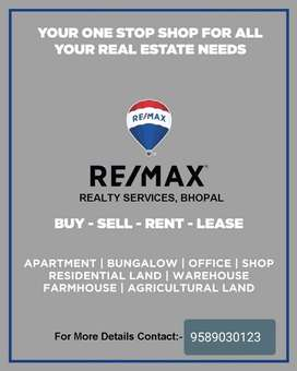 Commercial use Property Avaliable for rent  in Ground Floor MP nagar