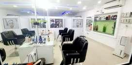 Beauty parlour ,interior, glass door .,panampilly nagar ,Ernakulam