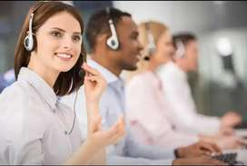 MALE AND FEMALE CALL CENTER JOB