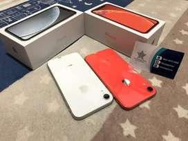 Iphone XR 64Gb coral dan putih
