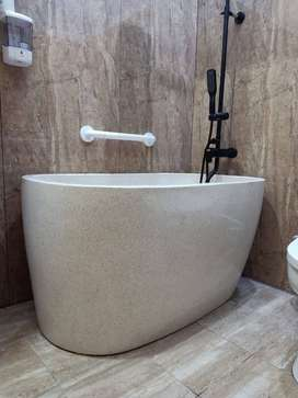 Bathtub Tipe Jepang Terazzo Custome P140 cm