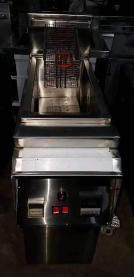 2 tube  Fryer 1 baskits capacity