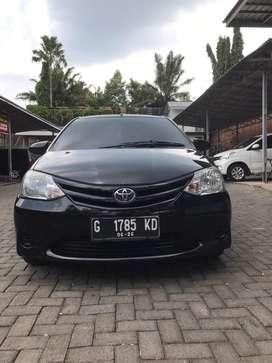 Dijual Cepat Toyota Etios tahun 2013