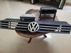 Kenwood music system panel for sale and Volkswagen Polo front grill