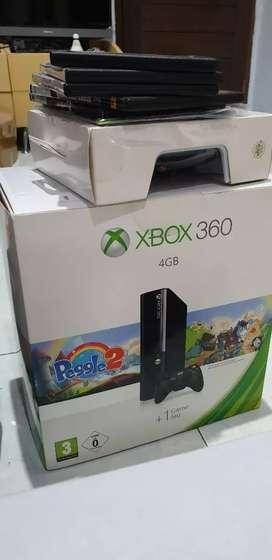 XBOX 360 Slim bonus banyak