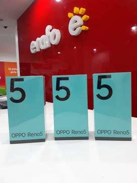 Oppo Reno 5 garansi resmi bisa kredit
