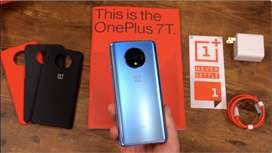 One plus 7t phone is available with us with 6 months seller warranty (
