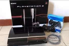PS3 lkp fullset 2 STIK SONY full terisi 40 permainan kekinian