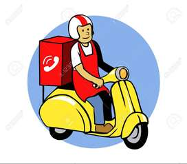 Urgently hiring for food delivery boys in Guntur