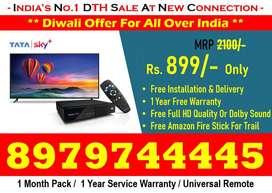 Diwali Special Offer On New DTH Tata Sky, Dishtv, Airteltv, Tatasky !!