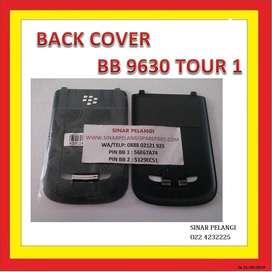 BackCover Back door Casing belakang Tutup Batre BB 9630(TOUR 1) Black