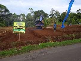 Tanah kavling murah dkt wisata Ciater Subang