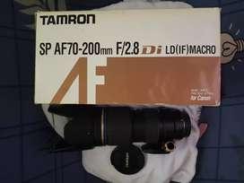 For Sale Lensa Tamro 70-200 F2,8 For Canon