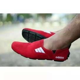 COD !! Sepatu Pria Adidas Mocasin Suede 3 Model