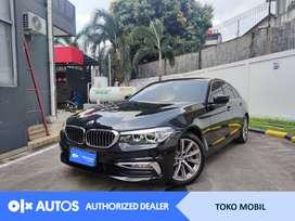 [OLXAutos] BMW 520d 2018 Luxury 2.0 A/T Hitam #Toko Mobil