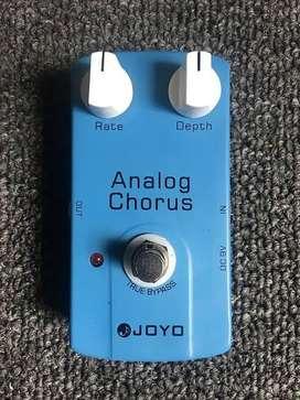 Dijual Joyo analog chorus dan joyo overdrive