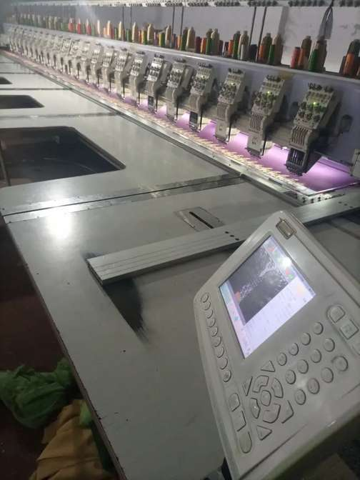 Embroidery Machines 2 sami high speed