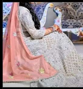 Preloved Lehnga Dress for Nikkah Engagement or Walima event