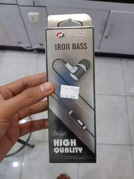 NASER headset iron bass