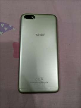 Honor 7s in new condition with Box