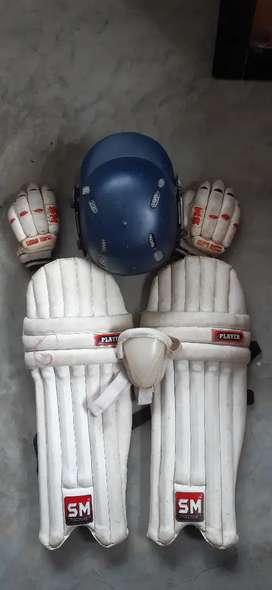 Cricket kit(items)