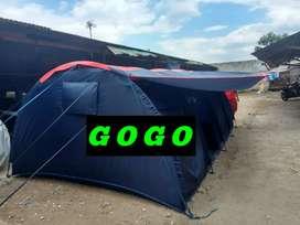 Tenda lorong camping pramuka 2x5 m murah