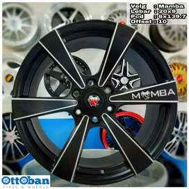 Velg Mamba R20X9 h6x139.7 Pajero Fortuner Strada Land Cruiser Hilux