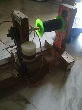 Kite thread windind machine