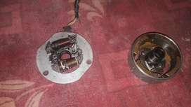 Honda cg 125 old modal magnet set a one condition