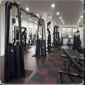 We can help you in installing complete gym  in reasonable price