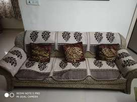 Sofa set 5 Seater with Center table, Furniture