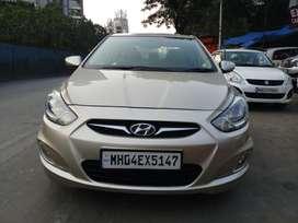 Hyundai Verna Fluidic 1.6 CRDi SX, 2011, Diesel