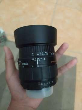 Lensa sigma 28-80mm f3.5-5.6 macro for nikon
