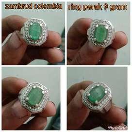Cincin zambud colombia ring perak 9.46 gram