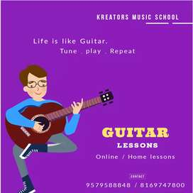 Guitar Home Lessons & Online