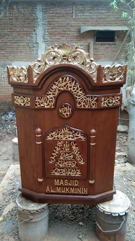 Podium masjid murah