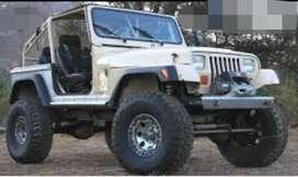 Modified new jeep