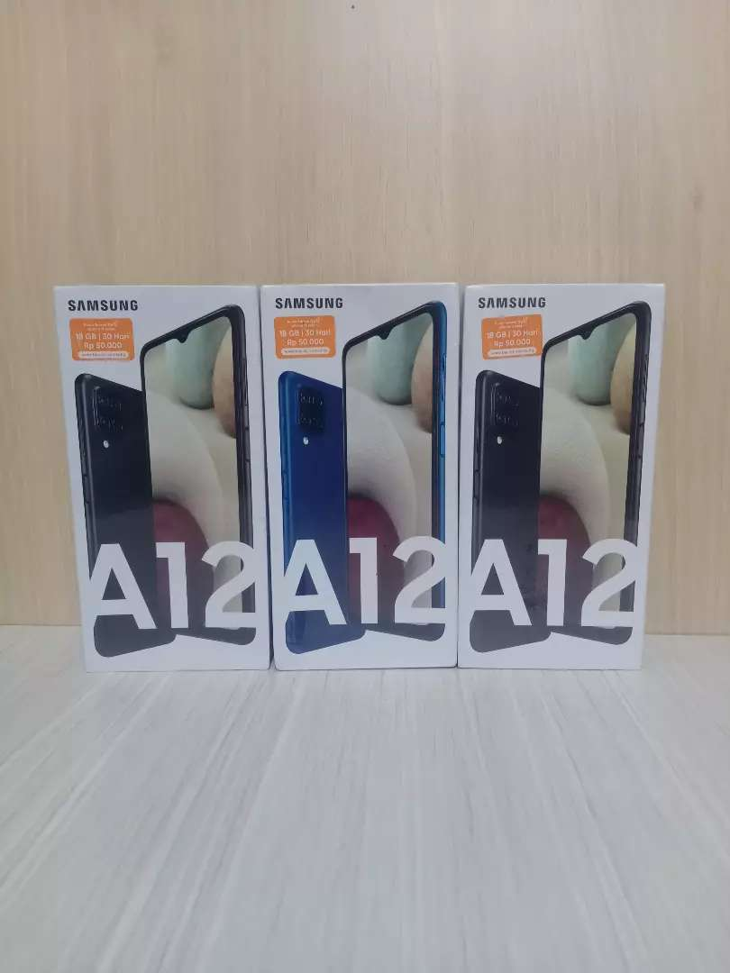 Under sale Samsung a12 ram 4/128gb