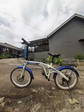 Sepeda Lipat second