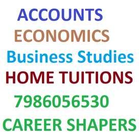 Commerce Home Tuition Avail -Accounts Economics B.Studies. FREE DEMO