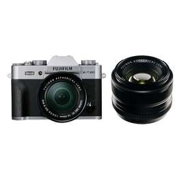 FUJIFILM X-T20 with 16-50mm + 50-230mm + Instax Share SP2