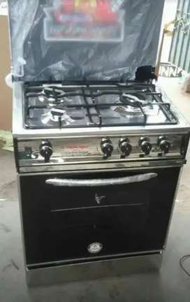 Modern gas cooking range 5 and 3 burner with 1 year warranty