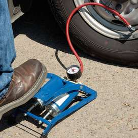 Car/Bike Double Cylinder Foot Pump proper: get your veggies and take y