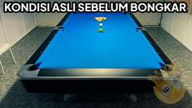 Meja billiard import standart tournament /bilyar /biliar / bilyard /