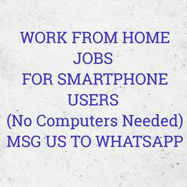 Data entry, Android based work with daily payment Whatsap now