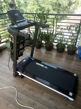 Sporty treadmill tl 607/4 fungsi Treadmill elektrik