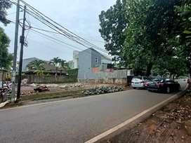 Tanah Kavling siap bangun posisi Hook di Duren sawit Jakarta timur