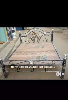 Metal with plywood cot 5 by 6 18g good quality all furniture availabl