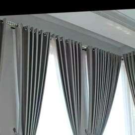 Dekorasi interior desain gordyn kordyn hordyn cantik bernuansa motipVY