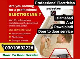 Electrician available One Call only